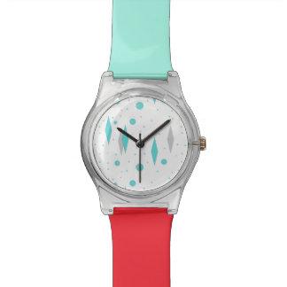 Retro Turquoise Diamond & Starburst May 28th Watch