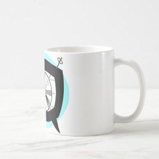 Retro TV and Test Pattern Coffee Mugs