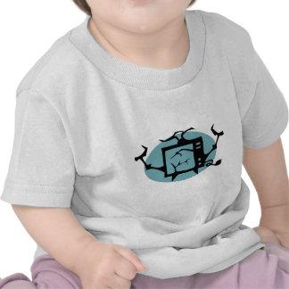 Retro TV Geek T Shirts
