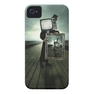 retro tv men blackberry cases