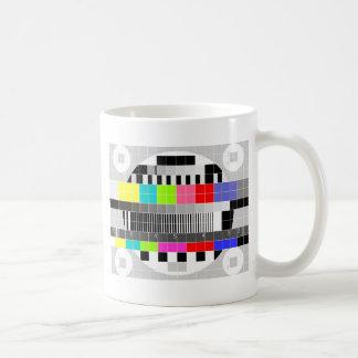 Retro TV multicolor signal test pattern Coffee Mug