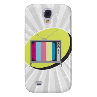 retro tv television samsung galaxy s4 cover