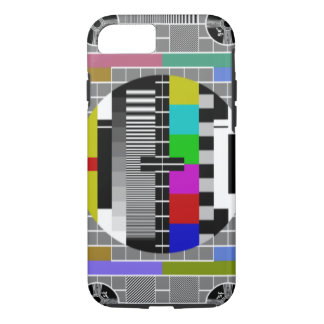 Retro TV Text Pattern iPhone 7 iPhone 7 Case