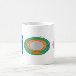 Retro TV's Basic White Mug