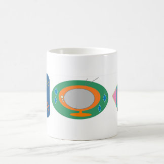 Retro TV's Basic White Mug