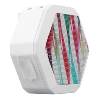 Retro Twists White Bluetooth Speaker