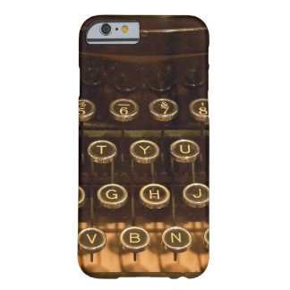 retro typewriter barely there iPhone 6 case