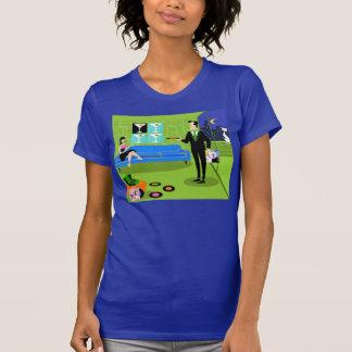 Retro Urban Cartoon Couple T-Shirt