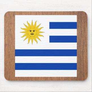 Retro Uruguay Flag Mouse Pad