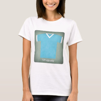 Retro Uruguay  Football Jersey T-Shirt