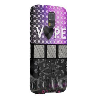Retro Vape Lips Metal Galaxy S5 Cover