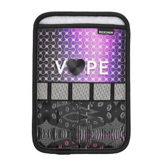 Retro Vape Lips Metal iPad Mini Sleeves