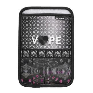 Retro Vape Zebra Lips iPad Mini Sleeves