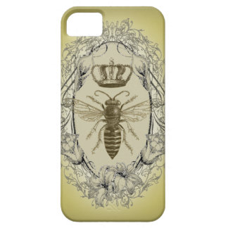 retro Victorian Bee Queen crown Fashion iphone5 Case For The iPhone 5