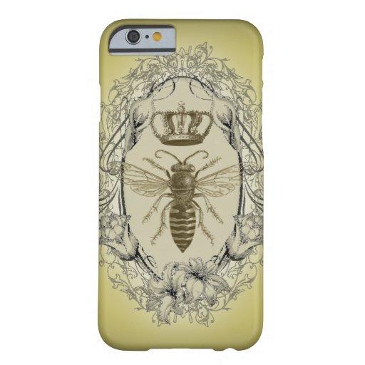 retro Victorian Bee Queen crown Fashion iPhone 6 c iPhone 6 Case