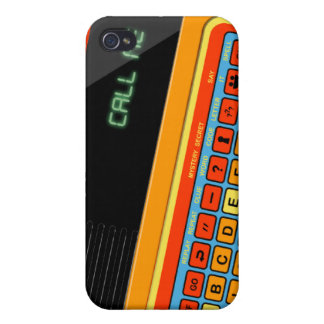 Retro video game motif vintage for iPhone 4 Case