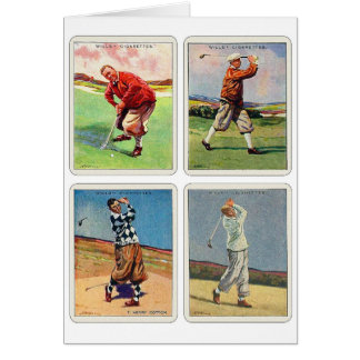 Retro Vintage 20s Golfing Cigarette Will s Cards