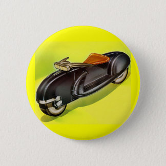 Retro vintage 50's Motorcycle of the Future 6 Cm Round Badge