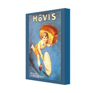 Retro vintage advertising Hovis bread Canvas Prints