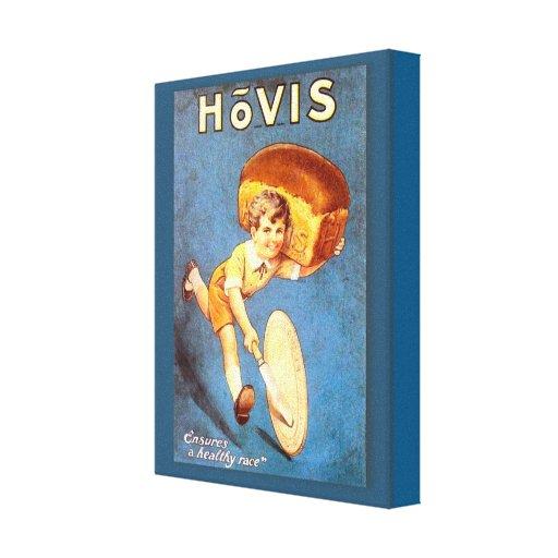 Retro vintage advertising, Hovis, bread Canvas Prints