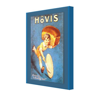 Retro vintage advertising, Hovis bread Stretched Canvas Print