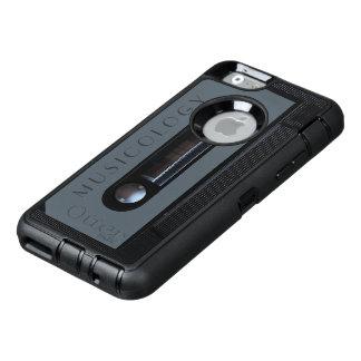 Retro vintage audio style cassette cover OtterBox iPhone 6/6s case