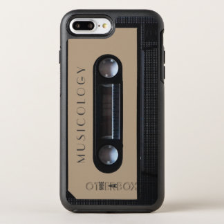 Retro vintage audio style cassette cover OtterBox symmetry iPhone 7 plus case