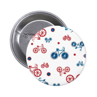 Retro Vintage Bicycle design 6 Cm Round Badge