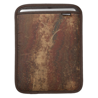 Retro vintage book cover texture, rough & worn sleeves for iPads
