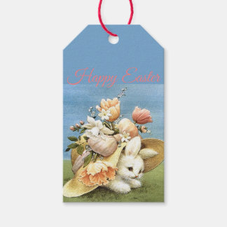 Retro/Vintage Bunny Chick Gift Tags