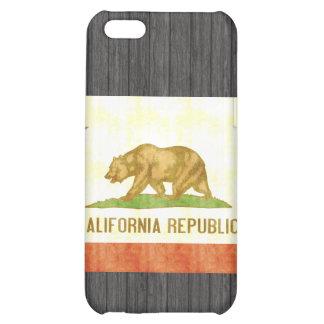 Retro Vintage California Flag iPhone 5C Cases