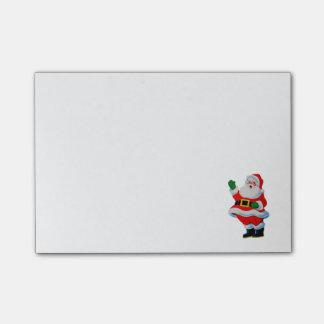 Retro Vintage Christmas Santa Claus Post-it Notes