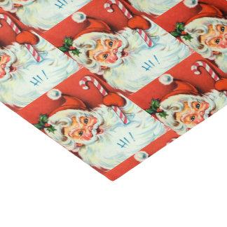 retro Vintage Christmas Santa party tissue Tissue Paper