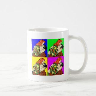 retro vintage comic coffee mug