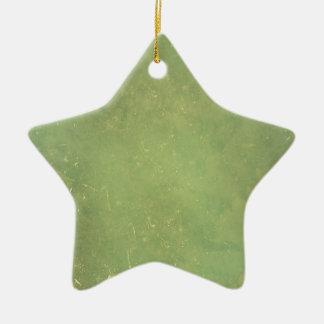 Retro Vintage Elegant Green Solid Color Pattern Ornaments