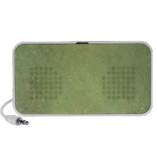 Retro Vintage Elegant Green Solid Color Pattern Travelling Speaker