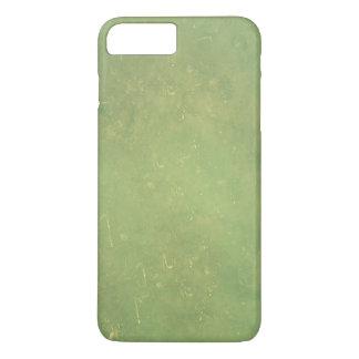 Retro Vintage Elegant Green Solid Colour Pattern iPhone 7 Plus Case