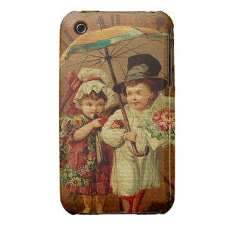 Retro Vintage Fine Art iPhone 3 Case-Mate Cases