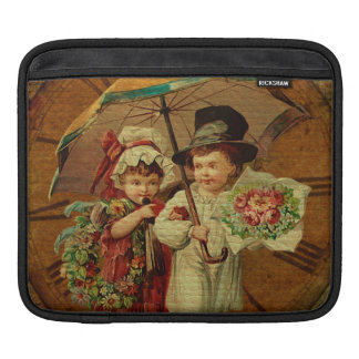 Retro Vintage Fine Art Sleeves For iPads