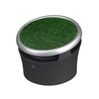 Retro Vintage Floral Emerald Green Flowers Speaker