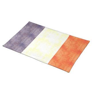 Retro Vintage France Flag Place Mat