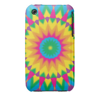 Retro Vintage Hippie 70s Pop Art Abstract Cases Case-Mate iPhone 3 Cases