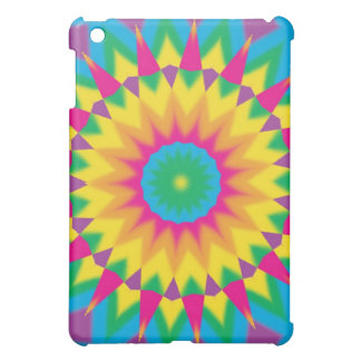 Retro Vintage Hippie 70s Pop Art Abstract Cases iPad Mini Case