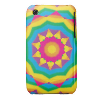 Retro Vintage Hippie 70s Pop Art Abstract Cases iPhone 3 Covers