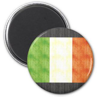 Retro Vintage Italy Flag 6 Cm Round Magnet