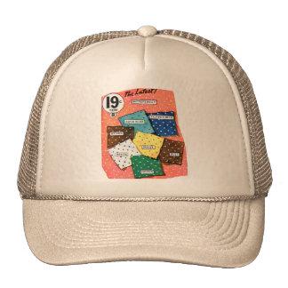 Retro Vintage Kitsch 30s Cloth Fabrics Polka Dot Trucker Hat