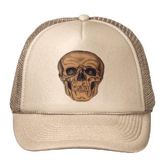 Retro Vintage Kitsch 50s Halloween Skull Bones Trucker Hat