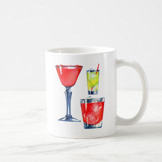 Retro Vintage Kitsch 60s Cocktails Drinks Martinis Coffee Mug