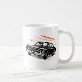 Retro Vintage Kitsch 60s Cop Police Car Mug
