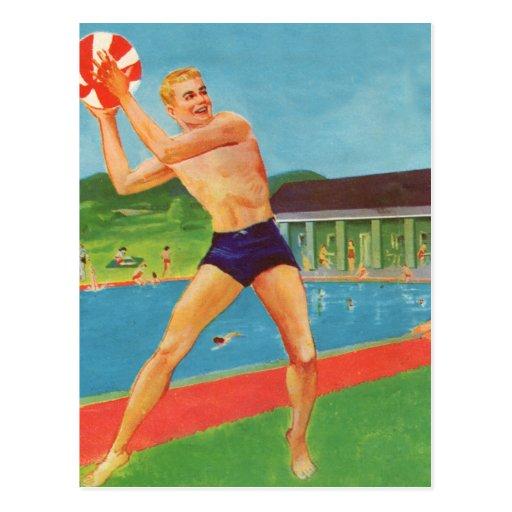 Retro Vintage Kitsch 60s Resort Ad Brochure Beach Postcards